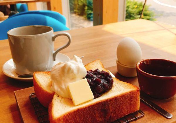 SAKUMACHI商店街の「つばめパン&MILK」で、モーニングを食べよう!