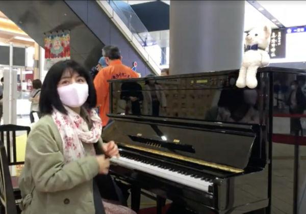 一宮駅の駅ピアノは4月4日まででした。でももしかしたら…
